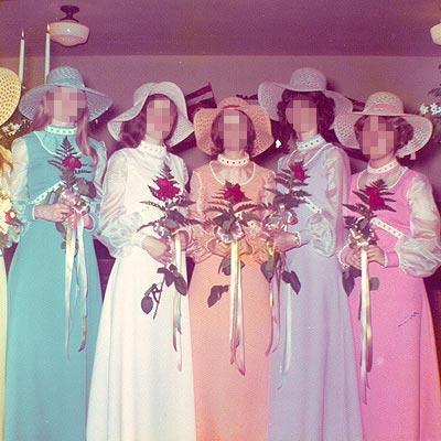 Top 10 Ugliest Bridesmaid Dresses 8 The Rainbow