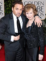 Photo of Jeremy Piven & his  Mother  Joyce Hiller Piven