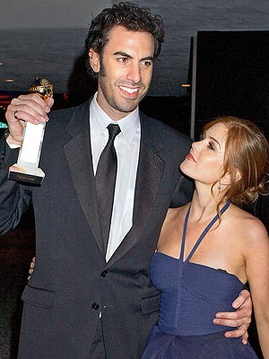 MAN OF THE HOUR  photo | Isla Fisher, Sacha Baron Cohen