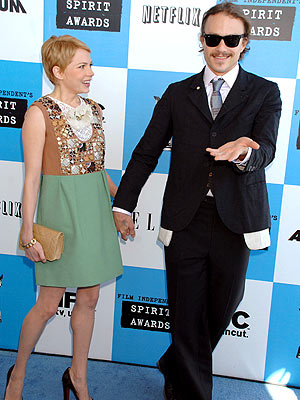 CUTE AND CUTER photo | Heath Ledger, Michelle Williams