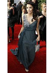 Seen & Heard on the Carpet: Eva's Dress Gets Stepped On | Eva Longoria