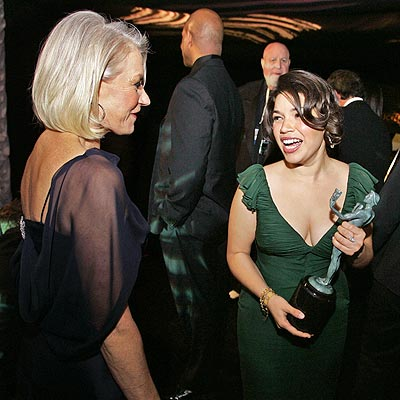 WINNERS' CIRCLE photo | America Ferrera, Helen Mirren