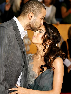 HELLO KISS photo | Eva Longoria, Tony Parker