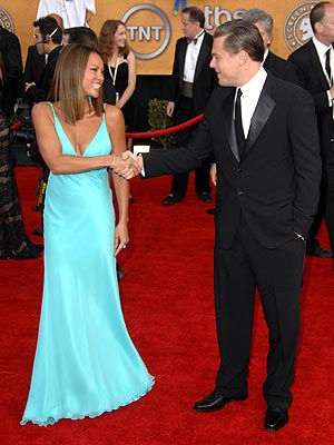 YOU'RE PRETTY ... NO, YOU'RE PRETTY!  photo | Leonardo DiCaprio, Vanessa Williams