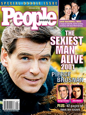 2001 photo | Pierce Brosnan
