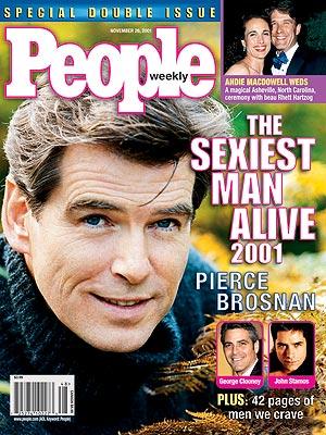 2001 photo | Pierce Brosnan