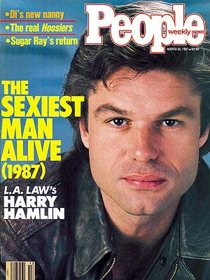 1987 photo | Harry Hamlin