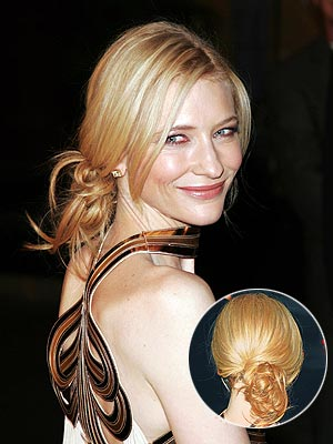 MASTER AN EASY UPDO photo | Cate Blanchett