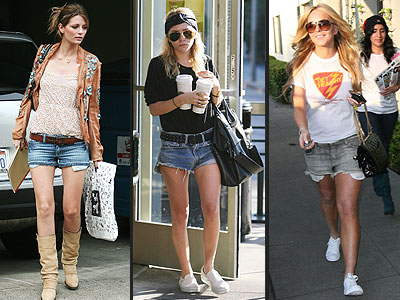 JEAN CUTOFFS  photo | Ashley Olsen, Lindsay Lohan, Mischa Barton