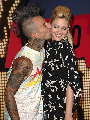 THE BARKERS photo | Shanna Moakler, Travis Barker