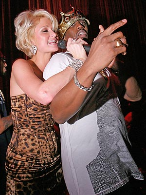 DIDDY & PARIS HILTON photo | Paris Hilton, Sean \P. Diddy\ Combs