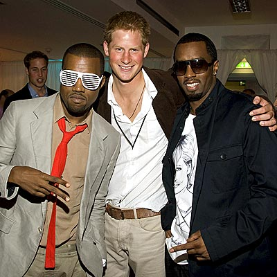 SPEC-TACULAR CAUSE photo | Kanye West, Prince Harry, Sean \P. Diddy\ Combs