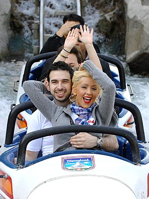CHRISTINA AGUILERA AND JORDAN BRATMAN photo | Christina Aguilera