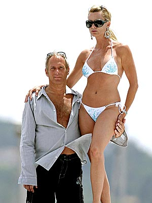 NICOLLETTE SHERIDAN & MICHAEL BOLTON  photo | Michael Bolton, Nicollette Sheridan