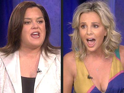 photo | Elisabeth Hasselbeck, Rosie O'Donnell