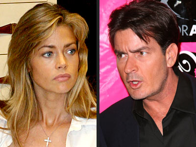 E-MAIL ALERT photo | Charlie Sheen, Denise Richards