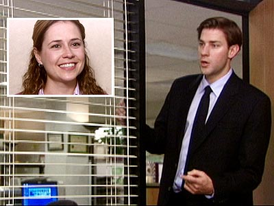 THE OFFICE photo | The Office, Jenna Fischer, John Krasinski