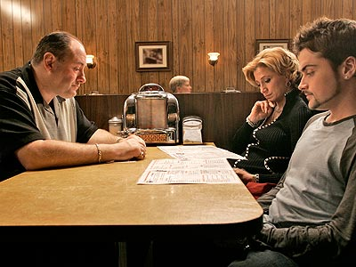 THE SOPRANOS photo | The Sopranos, Edie Falco, James Gandolfini, Robert Iler
