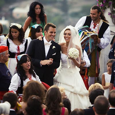 the poshest celebrity weddings bill rancic and giuliana