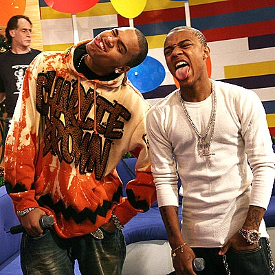TONGUE IN CHEEK photo | Bow Wow, Chris Brown