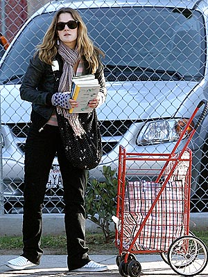WELL-READ  photo | Drew Barrymore