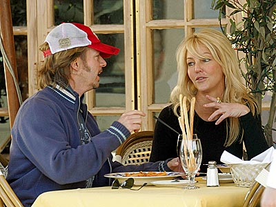 LUNCH DATE photo | David Spade, Heather Locklear