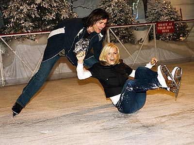 SLIP SLIDING AWAY  photo | Jenny McCarthy, Jim Carrey