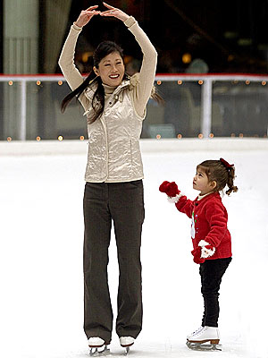 RETURN TO THE RINK  photo | Kristi Yamaguchi