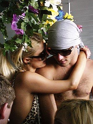 HOLDING PATTERN  photo | Paris Hilton, Stavros Niarchos