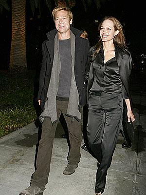 HOLDING COURT photo | Angelina Jolie, Brad Pitt