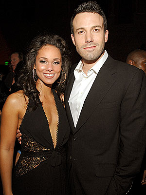 KILLER SMILES  photo | Alicia Keys, Ben Affleck