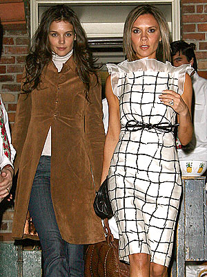 TWO OF A KIND photo | Katie Holmes, Victoria Beckham