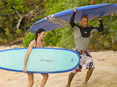 BOARD BUDDIES  photo | Cameron Diaz, Kelly Slater