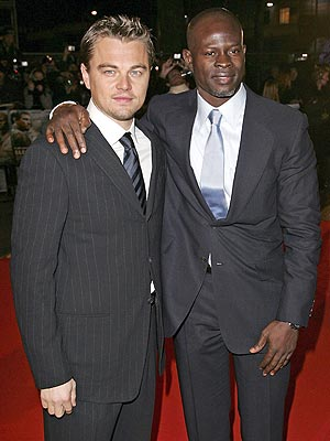 SUPPORTING ACTORS  photo | Djimon Hounsou, Leonardo DiCaprio