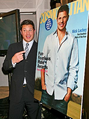 COVER BOY photo | Nick Lachey
