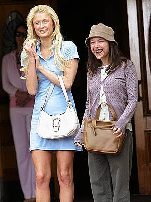BIG-SCREEN BFFS  photo | Paris Hilton