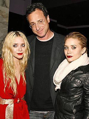 Bob Saget and Olsen twins