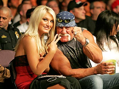 HAND SIGNALS photo | Brooke Hogan, Hulk Hogan