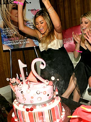 Lauren Conrad has a reminder that sticks and stones may break her bones,