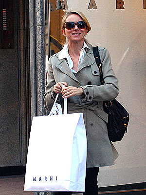 READY, SET, SHOP!  photo | Naomi Watts