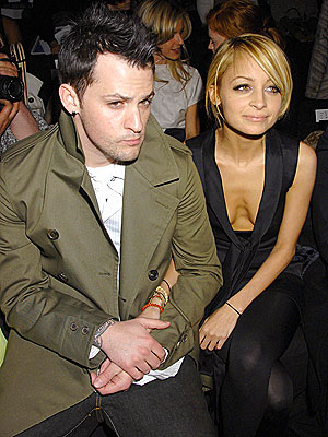 MAIN ATTRACTION  photo | Joel Madden, Nicole Richie