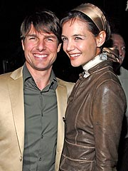 Tom Cruise & Katie Holmes Party in Miami