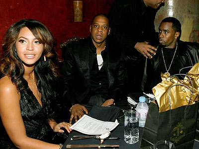 MUSIC ROYALTY photo | Beyonce Knowles, Jay-Z, Sean \P. Diddy\ Combs