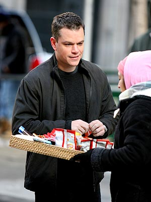 TAKE FIVE photo | Matt Damon