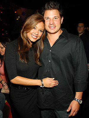 VIP SECTION photo | Nick Lachey, Vanessa Minnillo