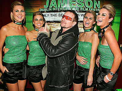LUCK OF THE IRISH  photo | Bono