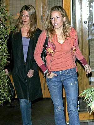 B-DAY GIRLS  photo | Jennifer Aniston, Sheryl Crow