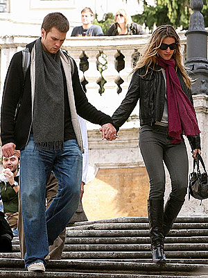STEADY THEY WILL GO photo | Gisele Bundchen, Tom Brady