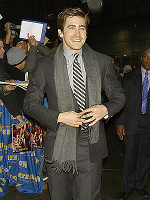 Jake Flashes His Killer Smile | Jake Gyllenhaal