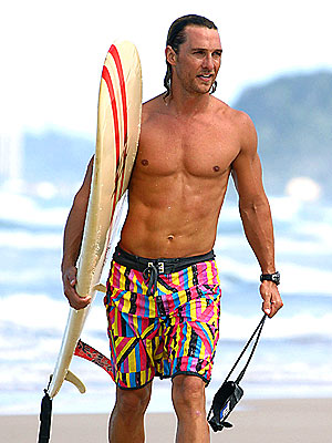 THE SURFER DUDE photo | Matthew McConaughey
